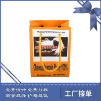 定做珠宝,食品打包手提袋 广州盛财厂家定制白卡牛皮纸袋 可定做彩印包装袋子