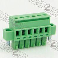 供应特供 总代理上海雷普LEIPOLE线路板端子系列-插拔式接线端子PCB端子15ELPKAM-3.81