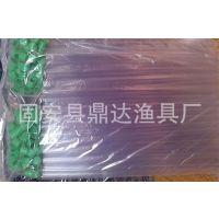 PVC透明浮漂管 鱼漂管 漂桶鱼标管单只装直径9mm长45cm渔具
