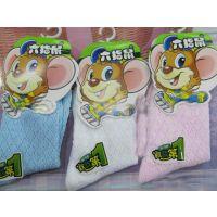 2015 新款六指鼠3-6精梳棉儿童袜  幼儿网袜批发