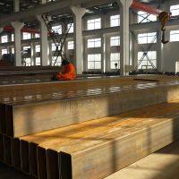 乌海450 200 22(Q345E材质)方矩管产品焊接方管在冲击载荷作用下抵御毁坏的才能叫做冲击韧