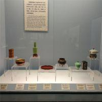 中国博物馆文物展示架透明展架 热弯工艺制作展示架