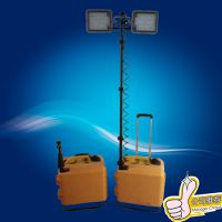 宝临电器 SFW6121移动升降工作灯 箱式开普发电机移动照明车