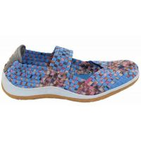New Design Women Woven Shoe with Good Quality and Cheap Price