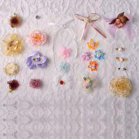 现货直销服装饰品配件手捧花缎带服装配饰小花免费拿样