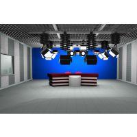 实景、虚拟演播室装修方案