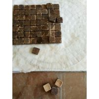 椰壳马赛克 椰壳装饰材料 椰壳 椰子制品 板胡瓢 板胡材料