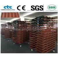 金属瓦厂家/屋顶新型瓦/杭州屋面瓦厂提供专业的施工指导