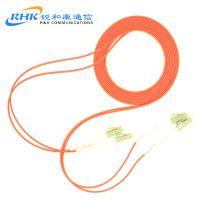 电信级厂家直销光纤lc-LC多模双芯光纤跳线尾纤3米5米10米可定制