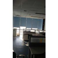 北京写字楼办公室喷绘卷帘遮光窗帘北京百叶帘竹帘维修窗帘杆