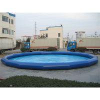 大型橡皮游泳池多少钱能买到 儿童户外pvc气垫水池价格 移动充气水池生意怎么样