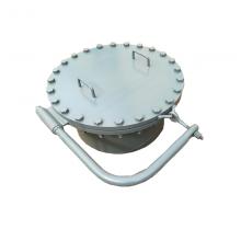 厂家直销DN500保温人孔|不锈钢矩形人孔