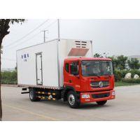 东风170马力国五冷藏车二汽多利卡9吨冷藏车价格
