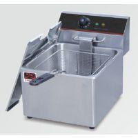 厂家直销正品/骏昇/JS-11L单缸单筛电炸炉/商用电炸锅15818810680