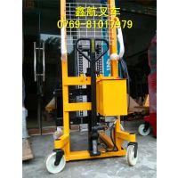 东莞鑫航叉车专业销售手动、电动两用堆高车,电话0769-81017979