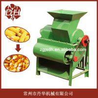 去苞叶加脱粒一体化,玉米脱粒机,操作简单。