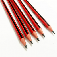 创意三角铅笔 全新环保材质抽条铅笔 高档塑料铅笔厂家批发 定制