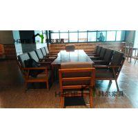 工厂直销西餐厅椅子西餐厅LOFT工业复古实木餐椅 韩尔家具定做