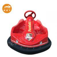 F1 儿童碰碰车广场 双人电动方向盘遥控玩具车儿童电瓶游乐设备