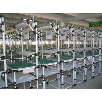 宏利高厂家供应精益管流水线、线棒工作台、U型工作站