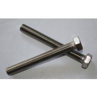 正宗304不锈钢外六角螺丝批发、广州机械不锈钢螺丝供应商