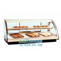 悦优美台式弧形热柜 玻璃烘焙面包展示柜 西式糕点保鲜柜