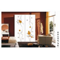 沙河佳汇玻璃制作厂家 丝印玻璃 橱柜玻璃 烤漆冰花衣柜玻璃制作