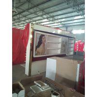北京慕修广告专业生产商场烤漆专柜精品展示柜制作厂家