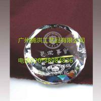 年会庆典活动礼品定做公司10周年庆典活动水晶名片夹办公摆件礼品