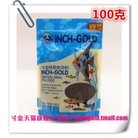 NO198寸金100g热带鱼饲料(小颗粒)鱼粮鱼食