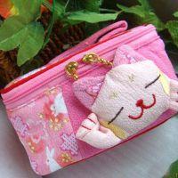 和风 手拎化妆箱包 可混批 /招财猫化妆箱系列ZBH02首饰箱