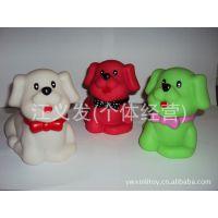 【优质】供应PVC环保搪胶玩具 惨叫发泄小狗 仿真塑胶玩具公仔