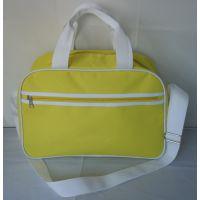 手提旅行包涤纶纯色2015通用休闲手提旅行袋韩版休闲多功能行李包