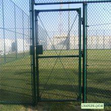 旺来镀锌勾花护栏网 勾花围栏网 球场护栏网
