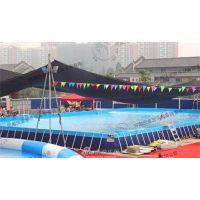 河南沃金(图)_大型支架游泳池价格_辽宁支架游泳池