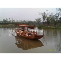 高低蓬/休闲手划船/中式仿古木船/观光客船