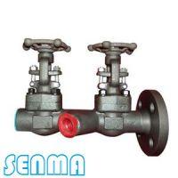 SENMA双联锻钢闸阀Z461Y-64