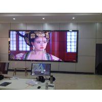 三星55寸3.9mm拼缝拼接屏高清画面输出液晶拼接幕墙超窄高清画面完整监控中心展览展示