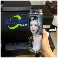 深龙杰易拉罐打印机高清图文照片圆柱打印机深圳厂家1013保温杯彩印机特惠