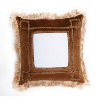 欧式风格棕色枕套 空白热转印枕套 奢华热转印枕套 热转印耗材