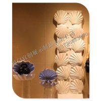 玻璃钢贝壳 海洋主题玻璃钢雕塑 海洋动物雕塑 店铺橱窗装饰 仿真贝壳