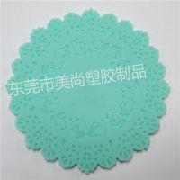 定制塑料圆形杯垫 pvc软胶卡通杯垫 酒店塑胶杯垫 硅胶滴胶杯垫