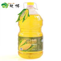 厂家直销食用油 冠博植物油 非转基因一级金胚玉米油5l 粮油批发