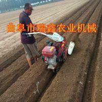 9马力农用开沟培土机 小型果树施肥开沟机 培葱打沟机