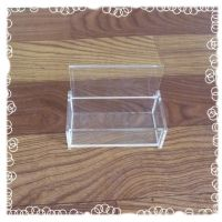 批发定制高档透明优质亚克力包装盒子 透明塑料水晶盒 收纳盒定做