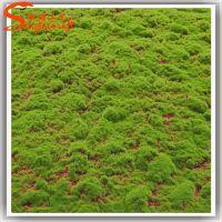 厂家直销塑料仿真草坪 绿色人造草皮装饰 室外足球场工程 仿真草皮地毯