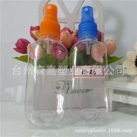 厂家直销50毫升 PVC材质 透明喷雾瓶 倒钩瓶 款式新颖