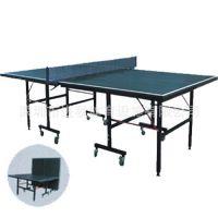 201单折移动式乒乓球台 单折移动式乒乓球台  移动式乒乓球台