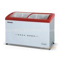 供应冷柜//圆弧玻璃卧式雪柜/雪糕柜/冰淇淋柜/便利店制冷设备