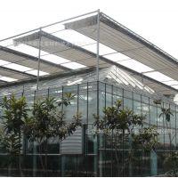北京 中荷创新 连栋阳光板温室外遮阳拉幕系统